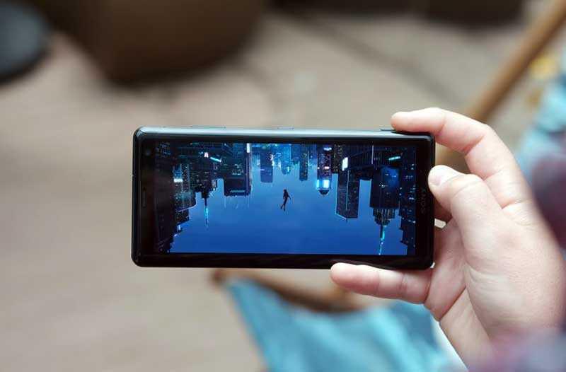 Sony Xperia XZ3 экран