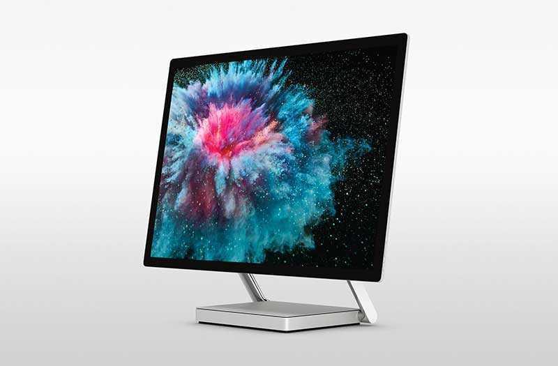 Microsoft Surface Studio 2 экран