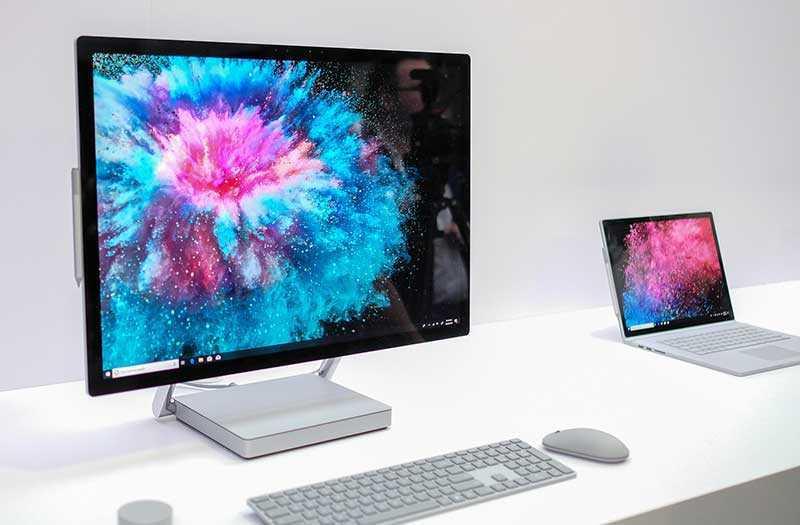 Что нового в Microsoft Surface Studio 2?