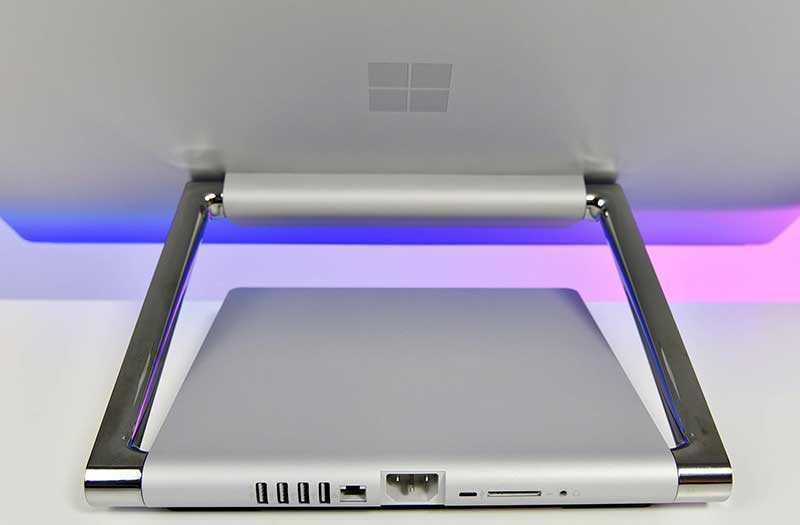 Microsoft Surface Studio 2 сзади