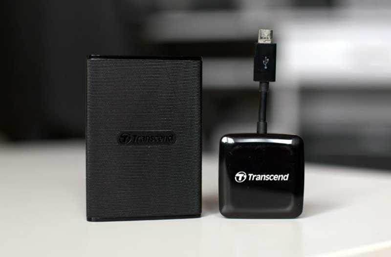 Обзор Transcend ESD220C и Transcend RDP9: внешний SSD-накопитель и смарт картридер