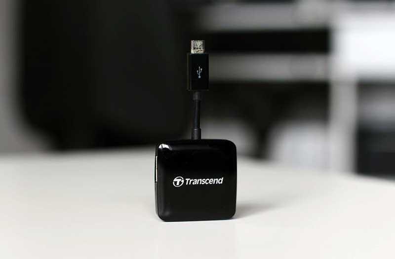 Transcend RDP9 картридер