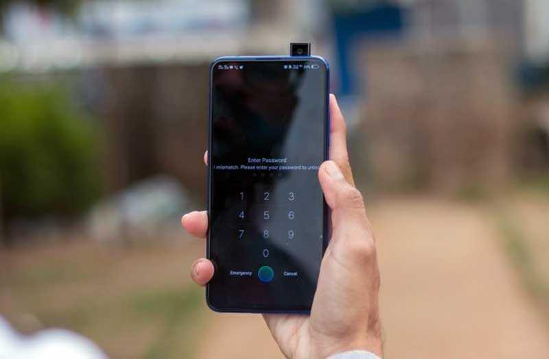 Vivo V15 Pro передняя камера