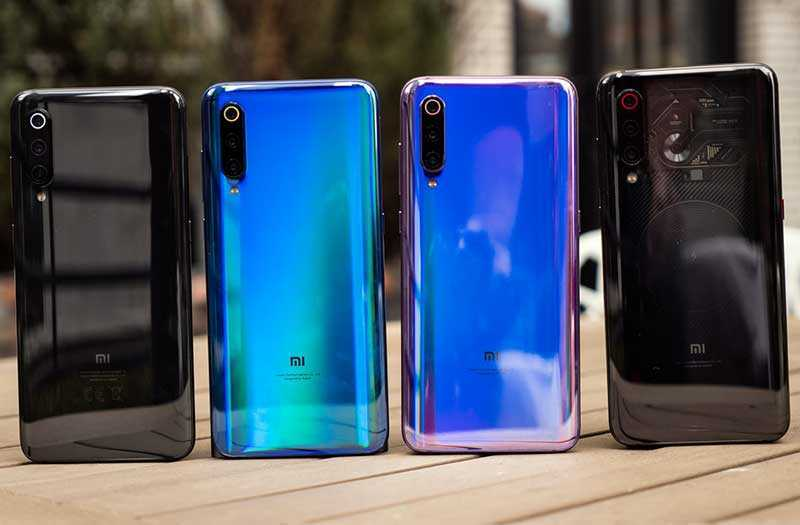 Xiaomi Mi 9 дизайн