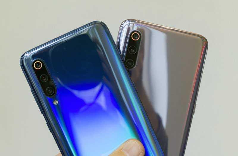 Xiaomi Mi 9 конструкция