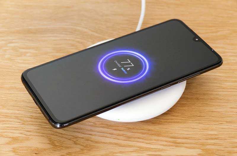 Xiaomi Mi 9 беспроводная зарядка