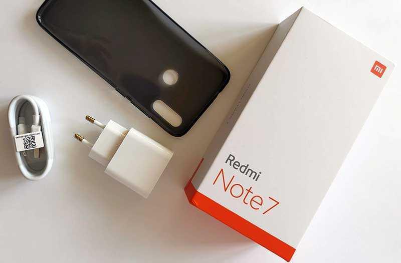 Xiaomi Redmi Note 7 из коробки