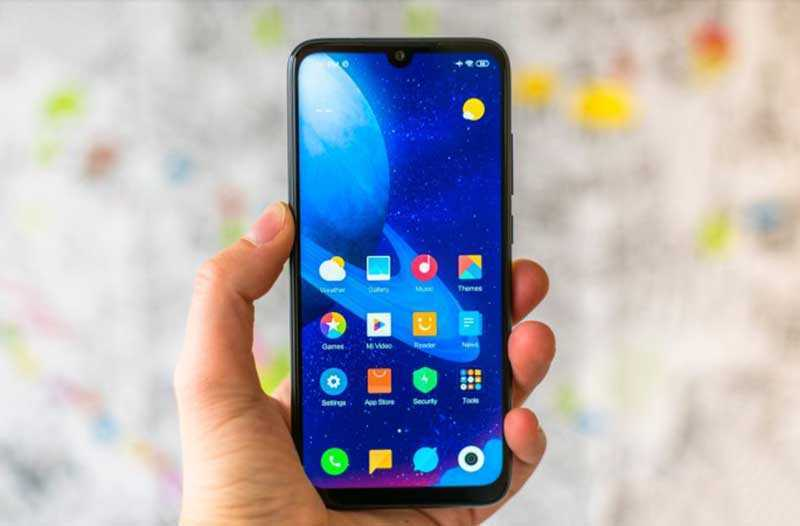 Xiaomi Redmi Note 7 дизайн
