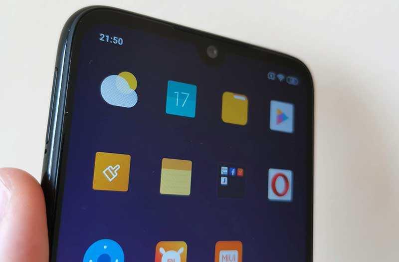 Xiaomi Redmi Note 7 экран