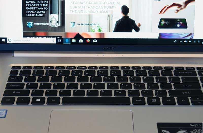 Acer Swift 5 (2019) экран