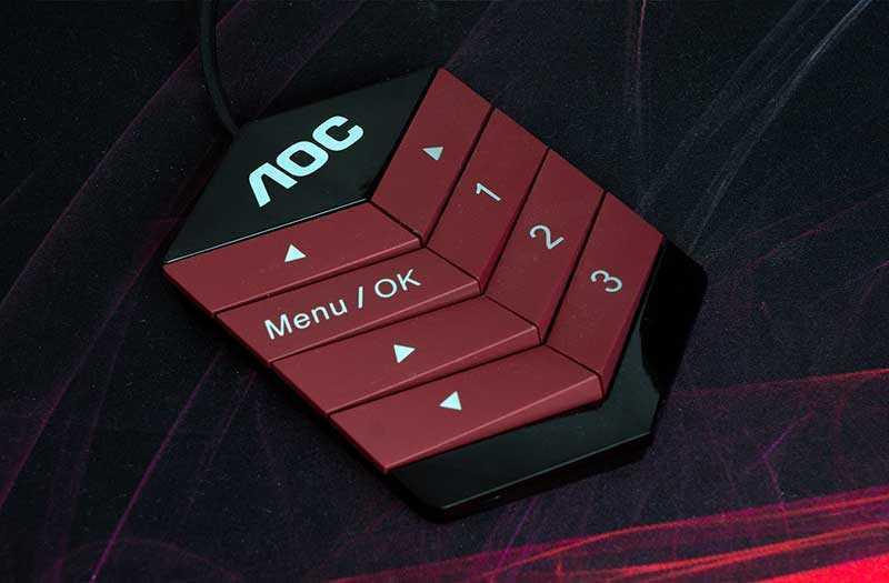 AOC AGON AG322QC4 пульт
