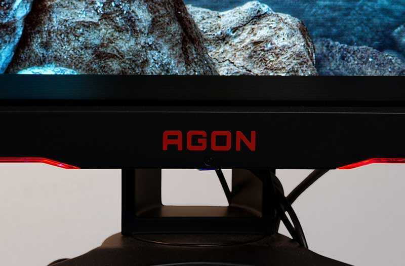 AOC AGON AG322QC4 установка