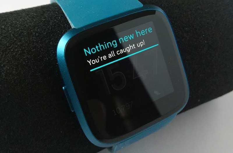 Fitbit Versa Lite Edition система
