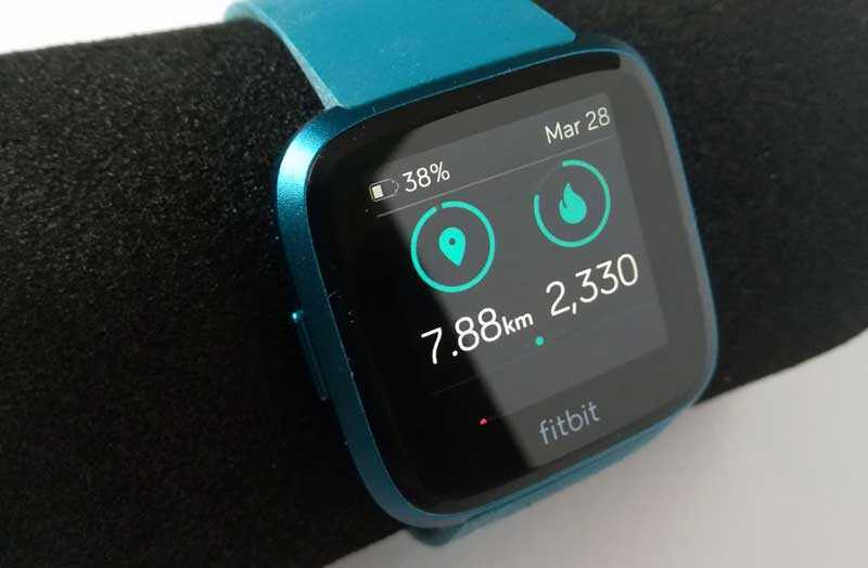 Тест Fitbit Versa Lite Edition