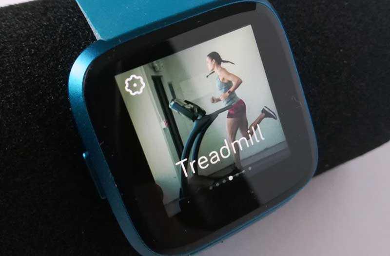 Fitbit Versa Lite Edition тренировки