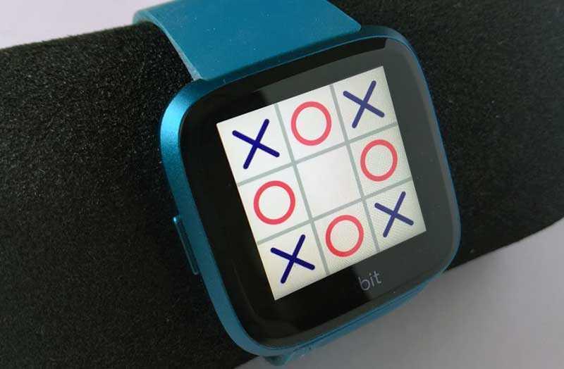 Fitbit Versa Lite Edition игры