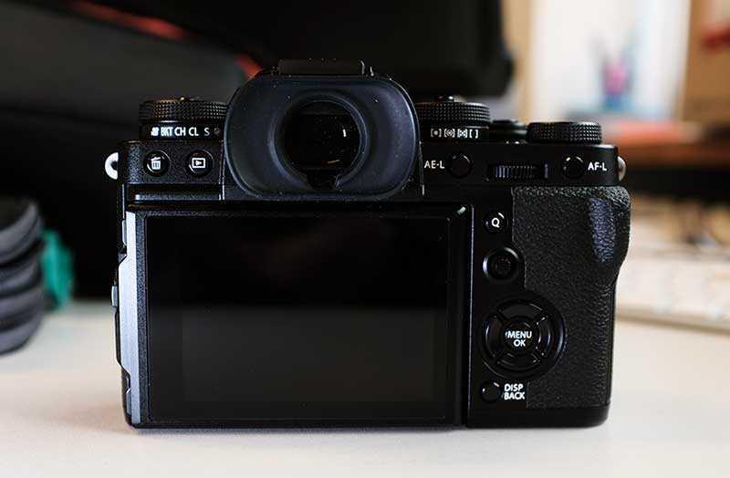Fujifilm X-T3 видоискатель