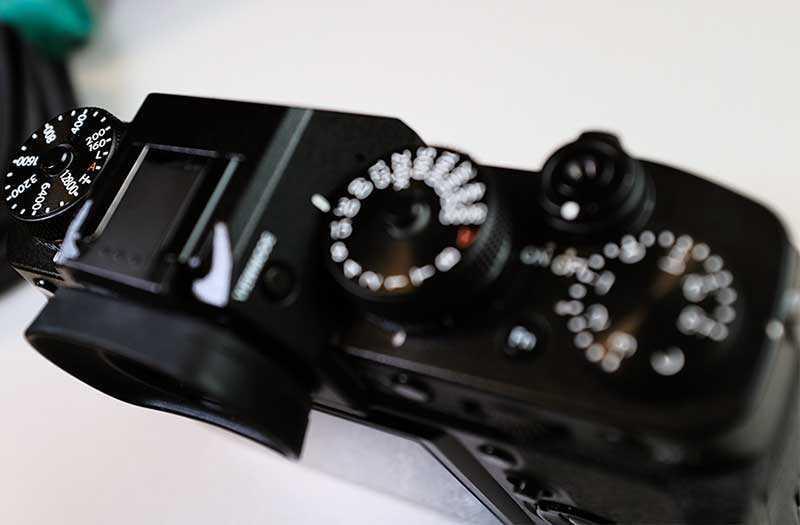 Fujifilm X-T3 управление