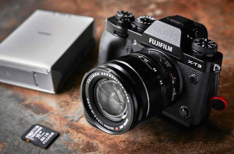 Камера Fujifilm X-T3