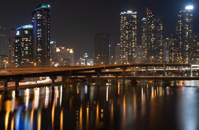 Fujifilm X-T3 ночная съёмка