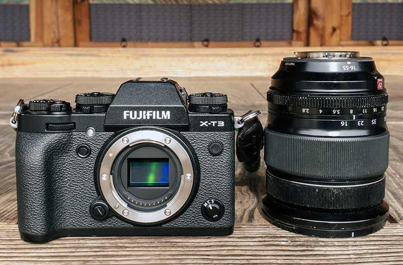 Дизайн и качество сборки Fujifilm X-T3