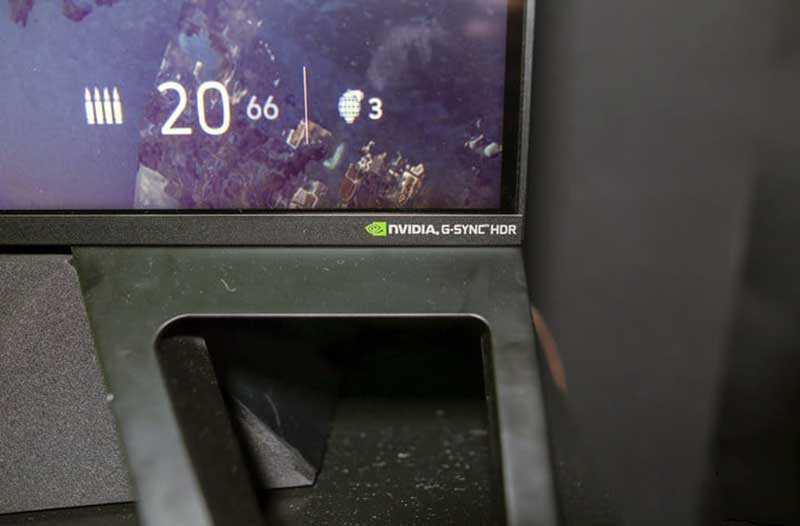 HP Omen X Emperium 65 подножка