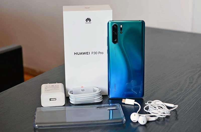Huawei P30 Pro из коробки