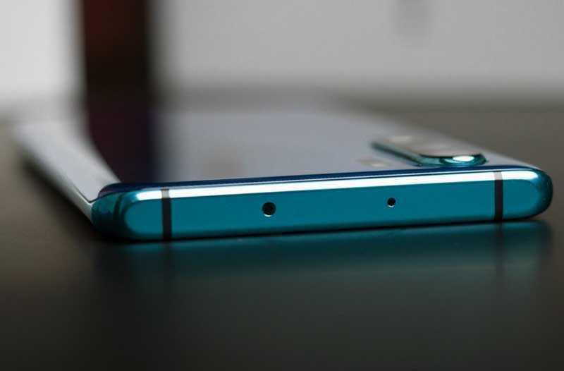 Huawei P30 Pro сверху