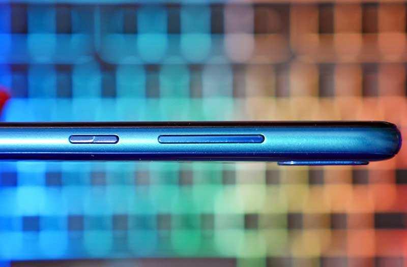 Huawei Y7 2019 кнопки управления
