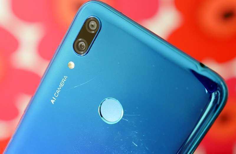 Huawei Y7 2019 камеры