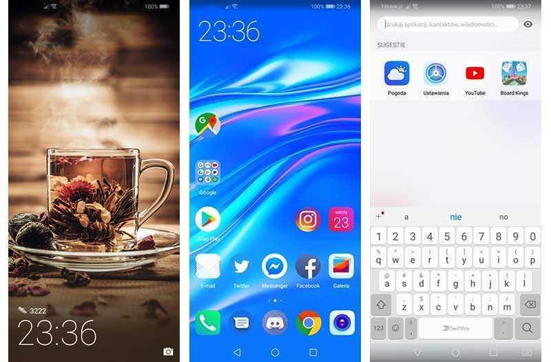 Huawei Y7 2019 система и ПО