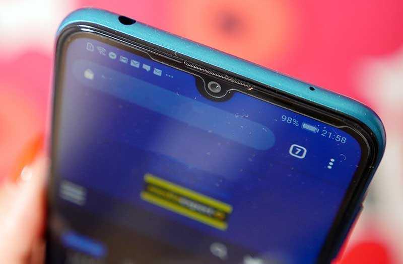 Huawei Y7 2019 связь