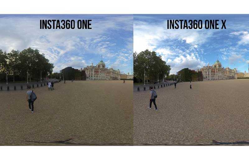 Insta360 One X качество съёмки
