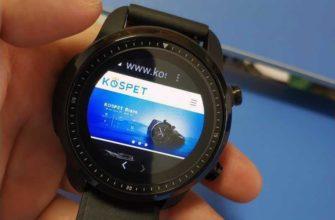 Обзор Kospet Brave: Android умных часов с IP68 — Отзывы TehnObzor