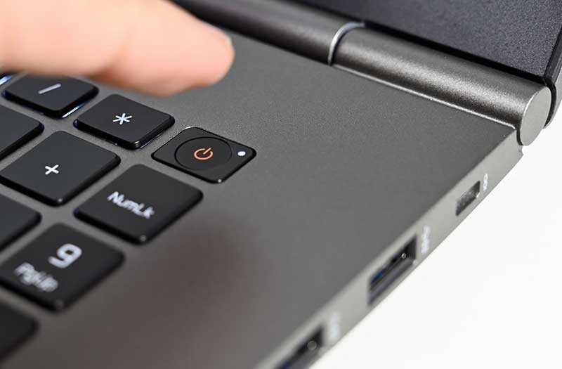 LG Gram 17 кнопка сканер