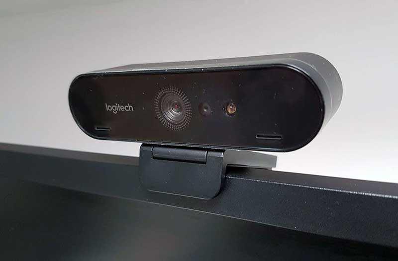 Logitech Brio 4K угол обзора