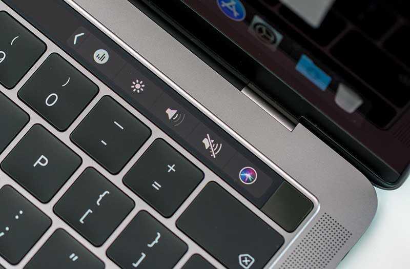 MacBook Pro 13 тачбар