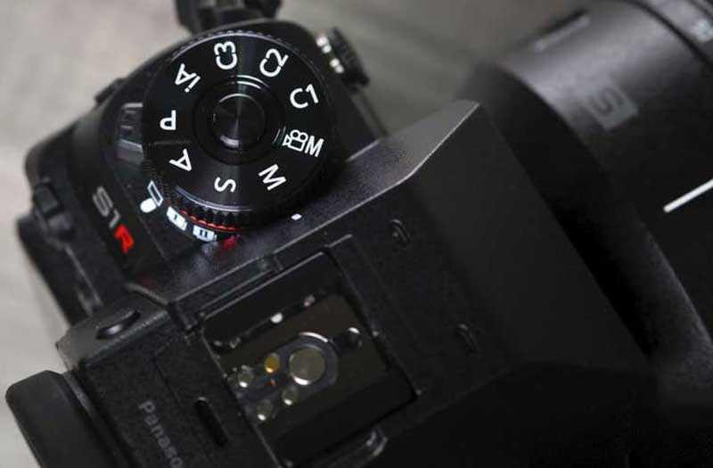 Panasonic Lumix S1R настройки