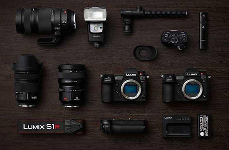 Камеры Panasonic Lumix S