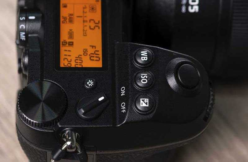 Panasonic Lumix S1R режимы