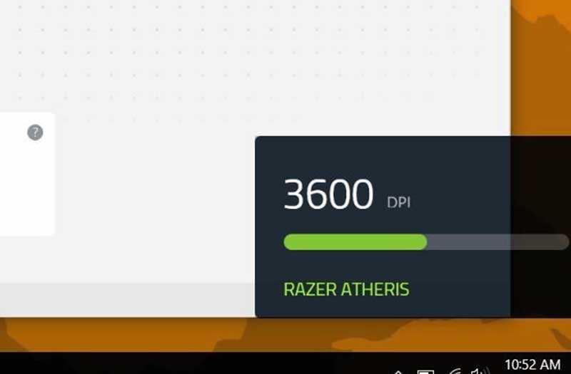 Razer Atheris скорость