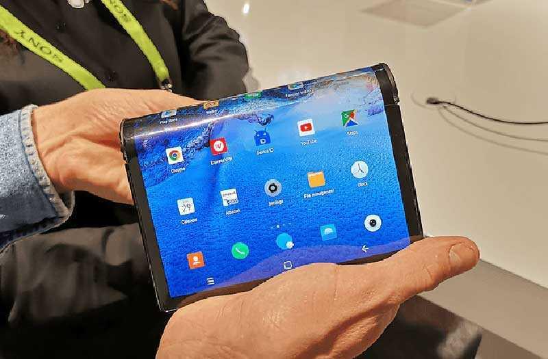 Обзор Royole FlexPai первого складного смартфона — Отзывы TehnObzor