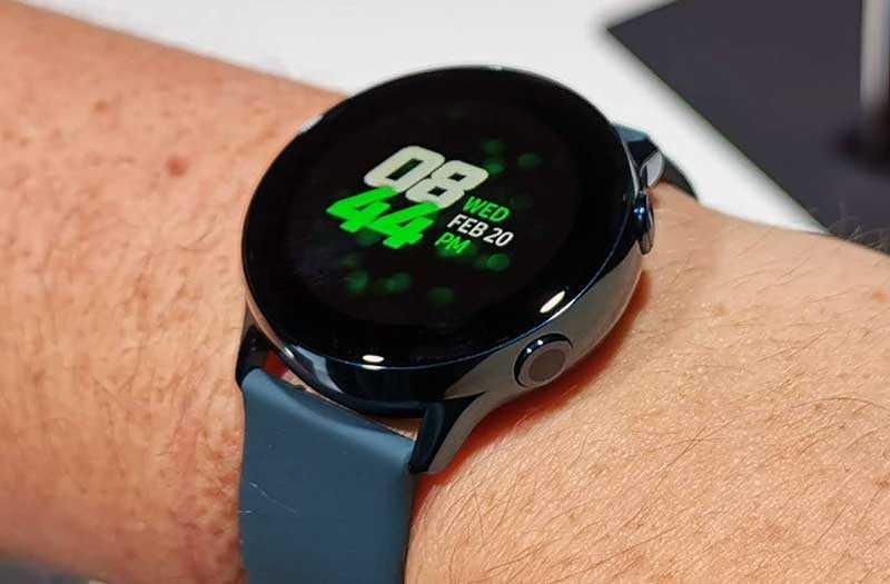 Samsung Galaxy Watch Active дизайн