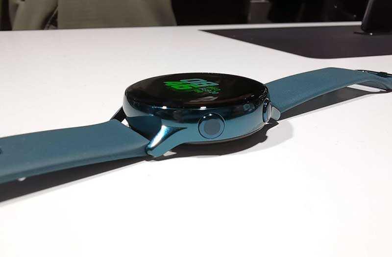 Тест Samsung Galaxy Watch Active