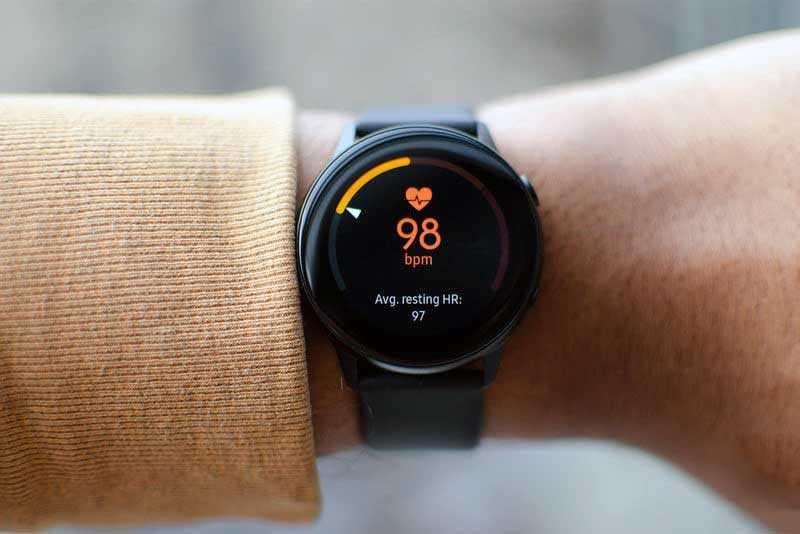 Samsung Galaxy Watch Active отслеживание