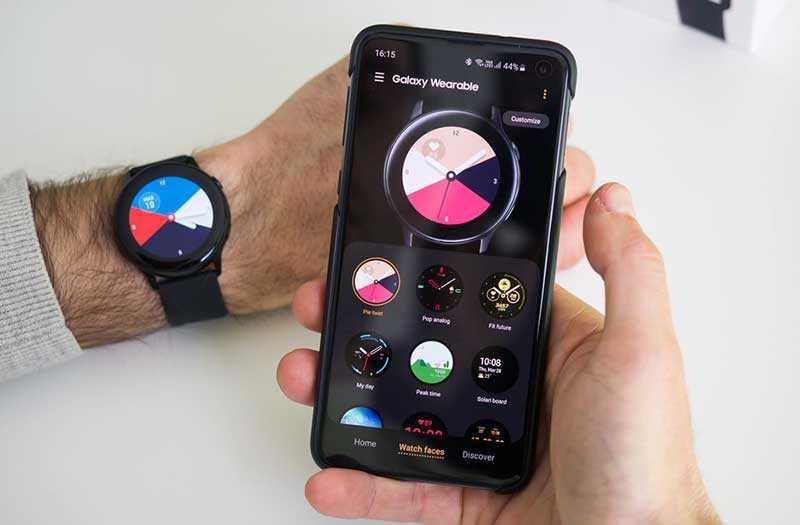 Samsung Galaxy Watch Active фитнес функции