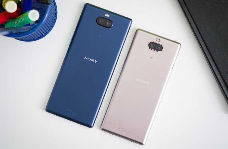 Sony Xperia 10 и Xperia 10 Plus обзор