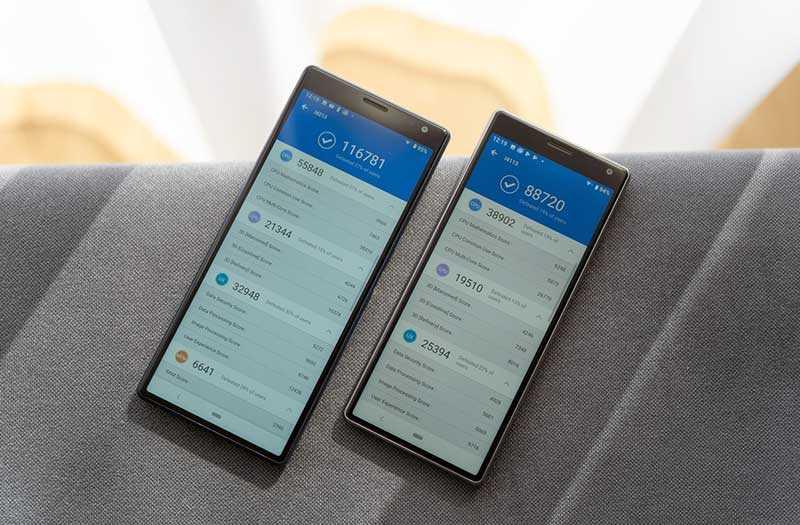 Тест Sony Xperia 10 и Xperia 10 Plus