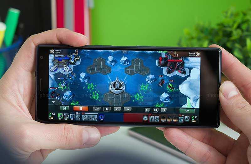 Sony Xperia 10 и Xperia 10 Plus в играх