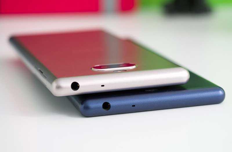 Sony Xperia 10 и Xperia 10 Plus разъём 3,5 мм